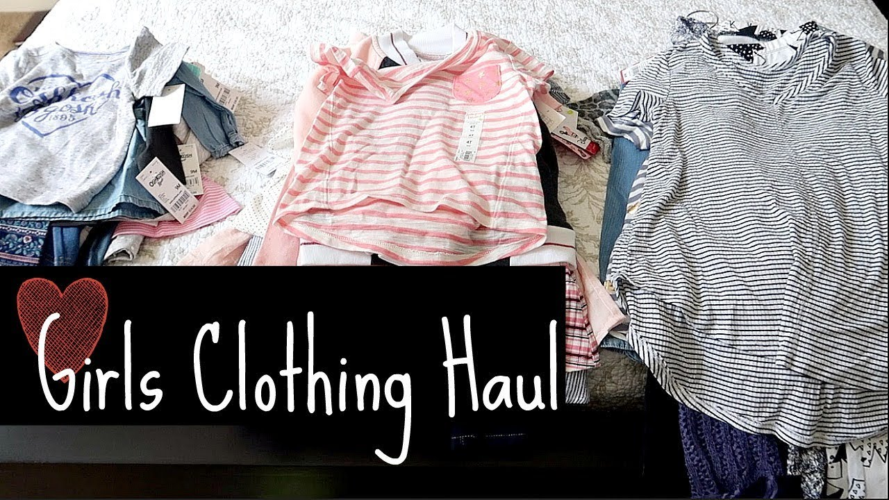 da765d722 Back to SCHOOL Kids Clothing Haul! | Girls Haul - YouTube