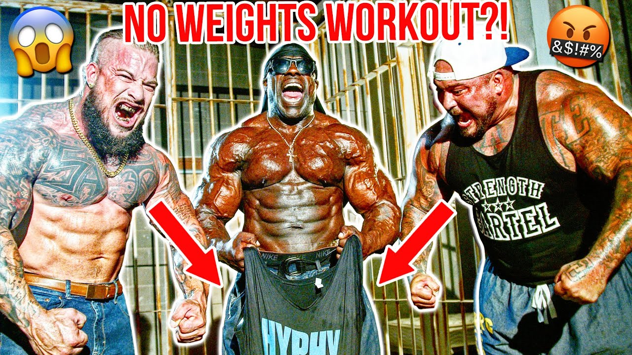 BUILD REAL MUSCLE (NO GYM WORKOUT) - Kali Muscle + Joey Stax + Big Boy