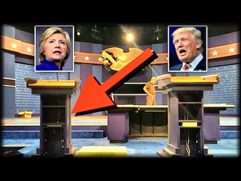 BREAKING: EVERY AMERICAN JUST NOTICED SOMETHING HUUUUGE ABOUT HILLARY CLINTON'S DEBATE PODIUM!