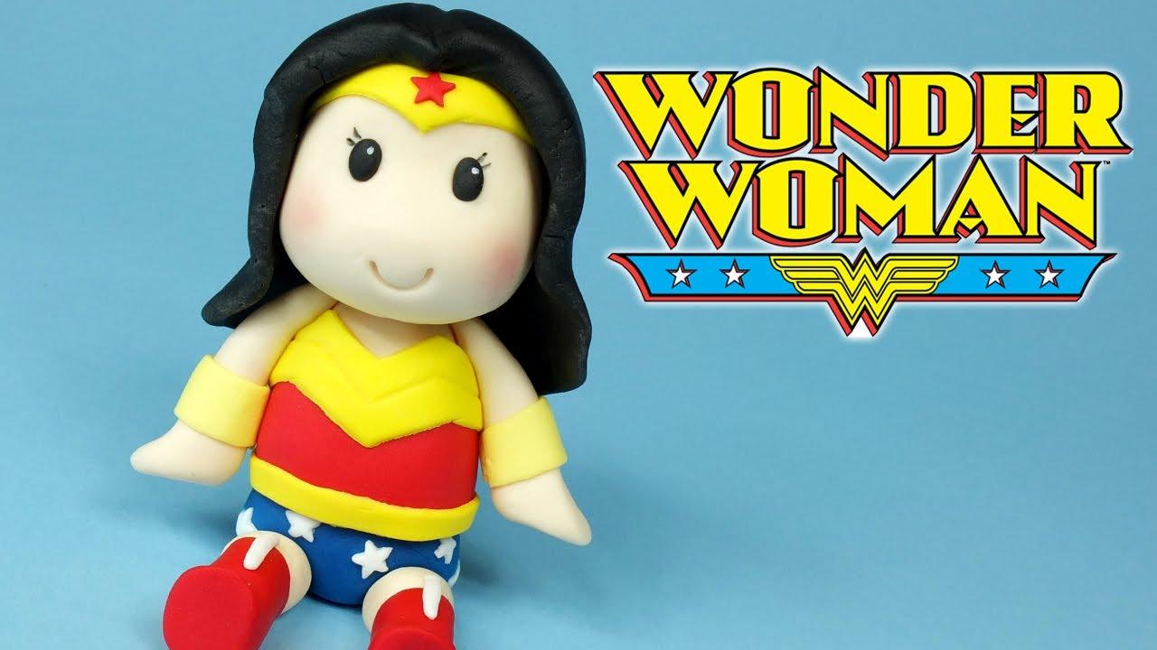 Diy Wonder Woman Chibi How To Make Wonder Woman Figurine Cake