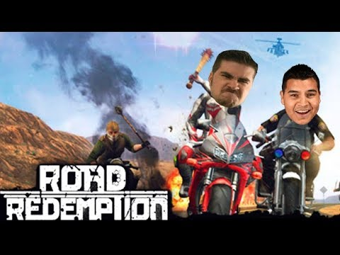 AJ plays Road Redemption! (Better than Ride to Hell?!)