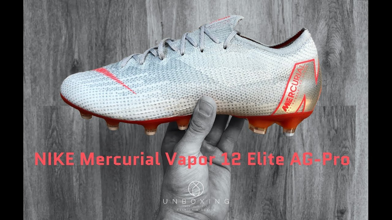 3ba077331 NIKE Mercurial Vapor 12 Elite AG-Pro  Raised from Concrete ...
