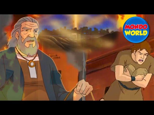 SODOME ET GOMORRE Ancien Testament VF | dessin anime | Film complet | La Bible pour les enfants