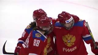 Турнир шести наций. Финал. Финляндия W - Россия W – 2:3. Видеообзор