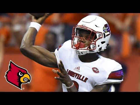 Lamar Jackson ACC-Record 610 Yards vs. Syracuse