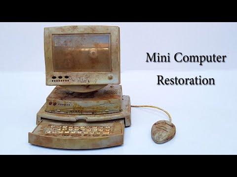 Old Mini Computer Restoration   Dummy PC D - 6000
