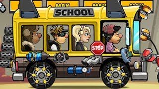 Hill climb racing 2 is the bus