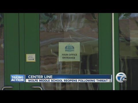 Threat at Wolfe Middle School in Center Line