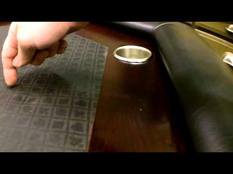 Homemade Octagon Poker Table
