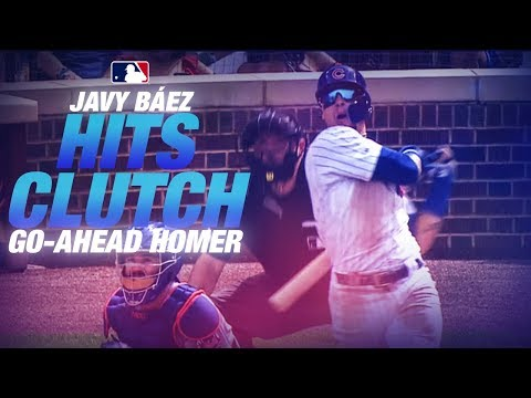 Baez's 100th Homer gives the Cubs the lead!