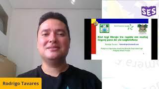 Kiel legi librojn tre rapide en multaj lingvoj pere de via saĝtelefono – Rodrigo Tavares | SES 2020