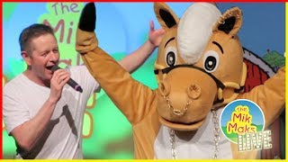 Morris The Rocking Horse | Kids Songs With Actions | Farm Animals | The Mik Maks
