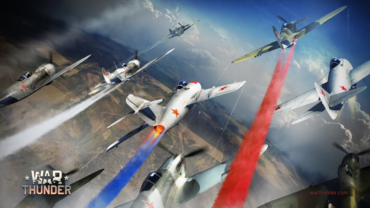 видео про самолеты war thunder