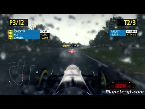 F1 2013 -  Brands Hatch en Williams FW18B