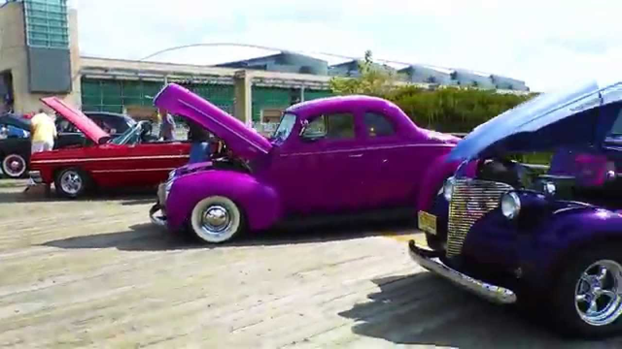 Travel Video Wildwood NJ Boardwalk Classic Car Show YouTube - Car shows in nj