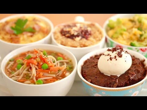 Microwave Mug Meals (Nutella Brownie, Ramen & More!) Gemma's Bigger Bolder Baking Ep 140