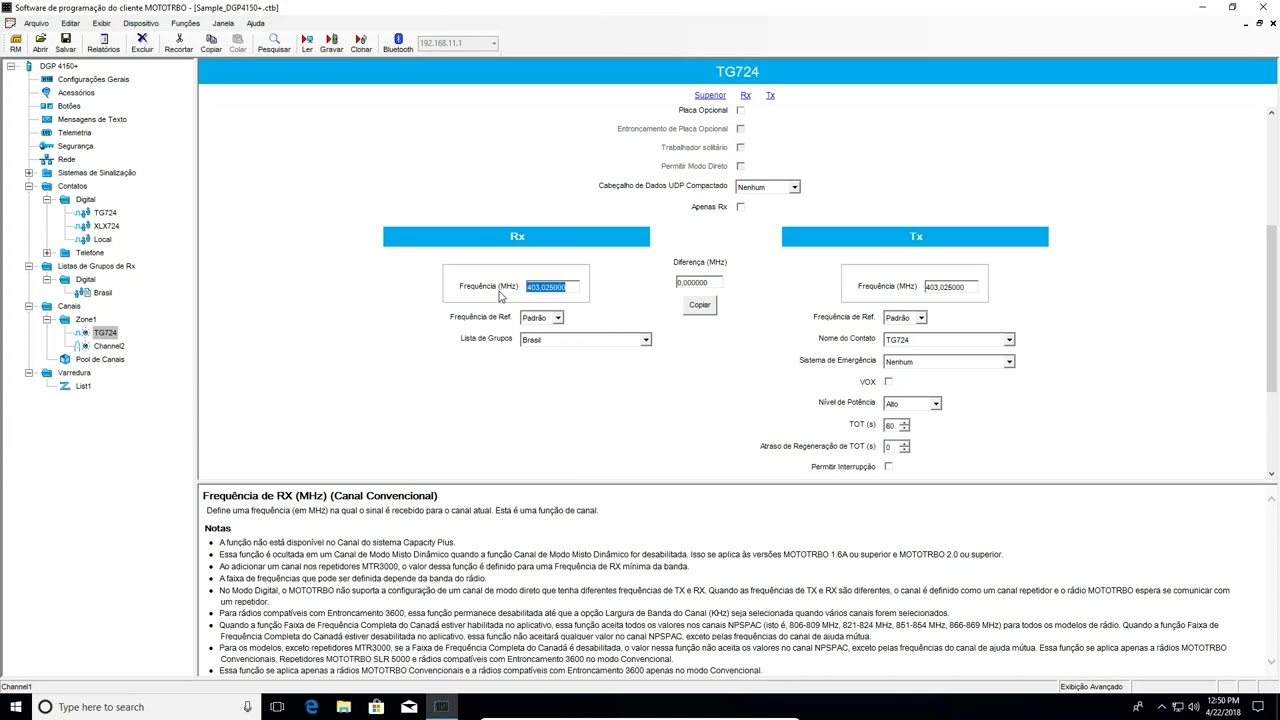 DV Brazil - Crie Codeplugs com o CPS Motorola - Por PU2ENG