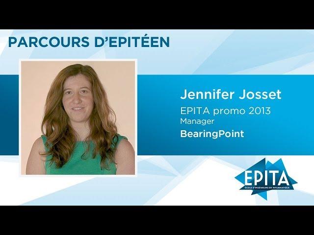 Parcours d'Epitéen - Jennifer Josset (promo 2013) - BearingPoint