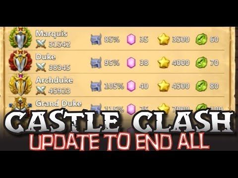 Castle Clash Update: Raising Might 2200 in 5 Minutes - 8 steps