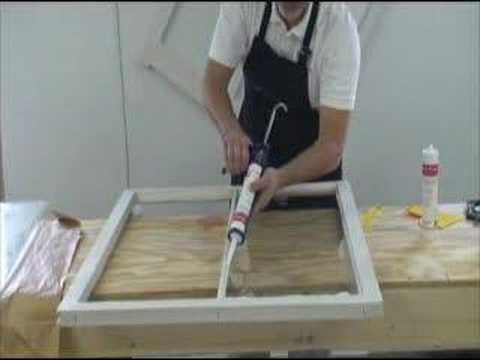 How to Glaze a Window Sash