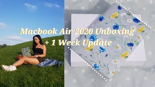 Macbook Air 2020 Unboxing + 1 Week Update | Liz Gabrielle M.
