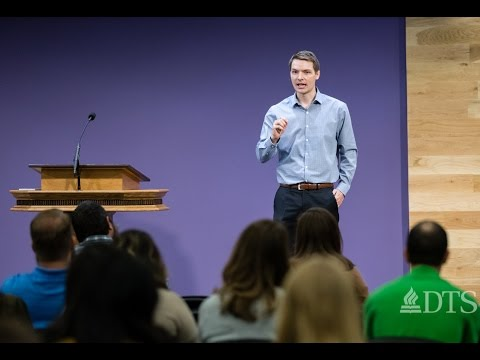 Senior Preaching Week: Discernment and Discipleship - Jonathan Wright