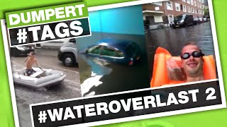 Zwemmen in de straten met #WATEROVERLAST (2) | Dumpert Tags