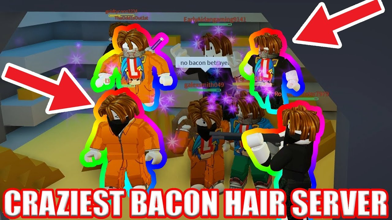 Server FULL OF BACON HAIRS!!! [GLITCHES] | Roblox ...