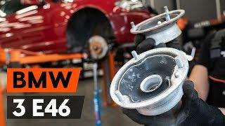 Hvordan bytte foran fjærbenslager på BMW 3 (E46) [BRUKSANVISNING AUTODOC]