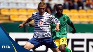 Les Bleus hang on against brave Jamaica