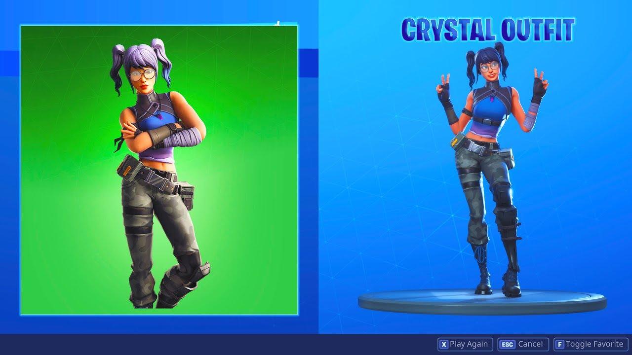 Crystal Fortnite Skin Outfit Fortniteskins Com