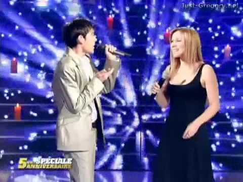 Un Ave Maria performance Gregory Lemarchal and Lara Fabian