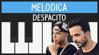 Despacito - Luis Fonsi ft. Daddy Yankee - Melodica Tutorial - YOUCANPLAYIT.COM