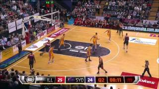 R2: Illawarra Hawks vs Sydney Kings highlights