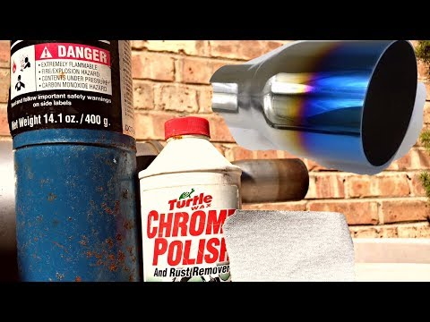 DIY | Burnt Exhaust Tips for under $20