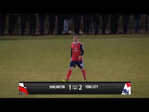 Darlington 1-2 York City - Vanarama National League North - 2017/18