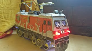 How to make a Static Amul BRC WAP-5 model: With cardboard and domestic things