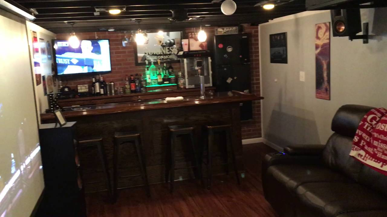 Home Theater And Man Cave Tour You