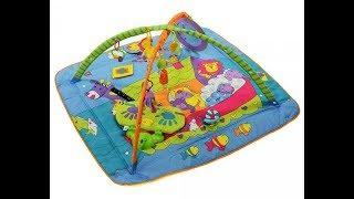Развивающий игровой коврик для детей Зоосад Tiny Love ОБЗОР