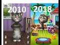 Evolution of Talking Tom Games 2010 - 2018