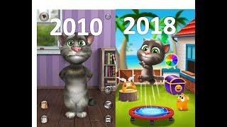 Evolution of Talking Tom Games 2010 - 2018