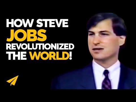 Steve Jobs 1988 Business Advice