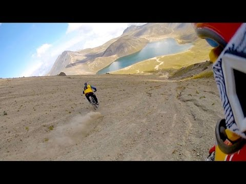 MTB POV Down Volcano Face - Through My Eyes - Part 1
