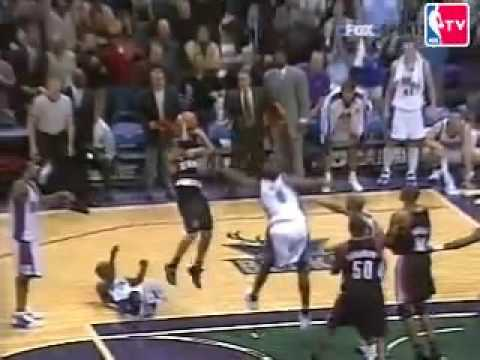 Damon Stoudamire clutch in Milwaukee 2003-2004