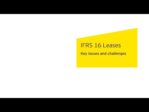 IFRS 16 Leases: Key issues and challenges