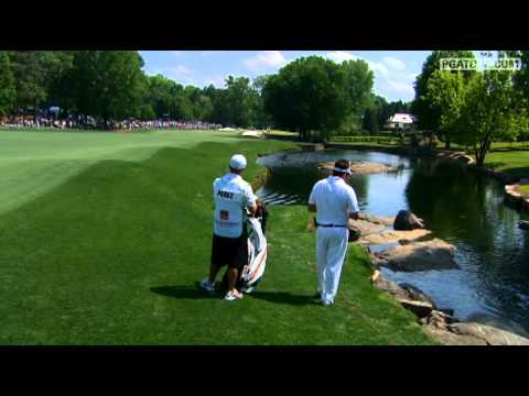 Moment of Silence for Seve Sunday at Wells Fargo Championship