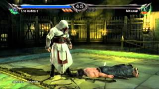 Soul Calibur V Ezio Auditore No Losses Arcade Extreme