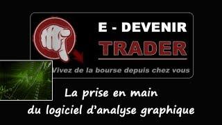 Devenir Trader - Débuter en bourse : Prise en main du logiciel d'analyse graphique
