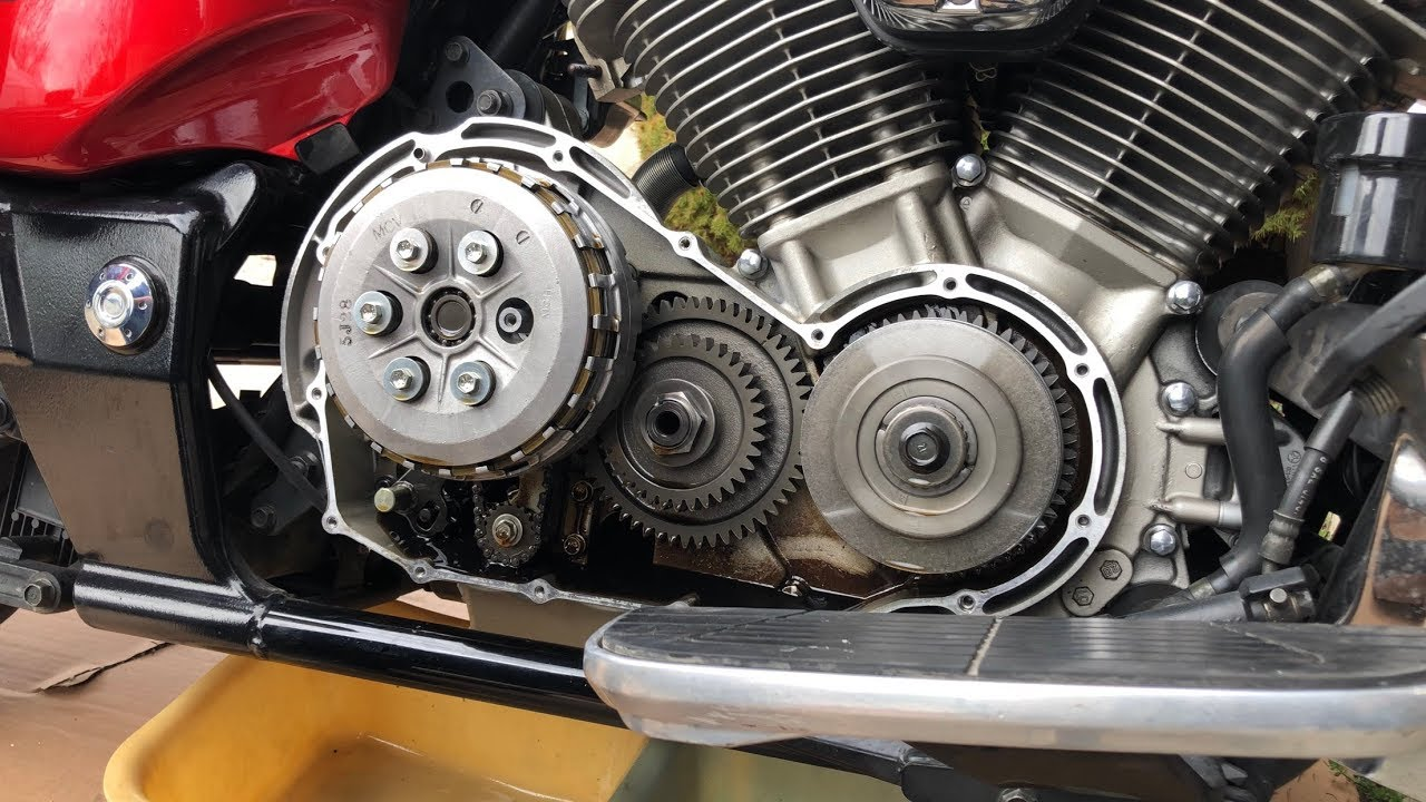 [DIAGRAM_34OR]  Changing The Clutch on a 2005 Honda VTX 1800 - YouTube | Vtx 1300 Engine Diagram |  | YouTube