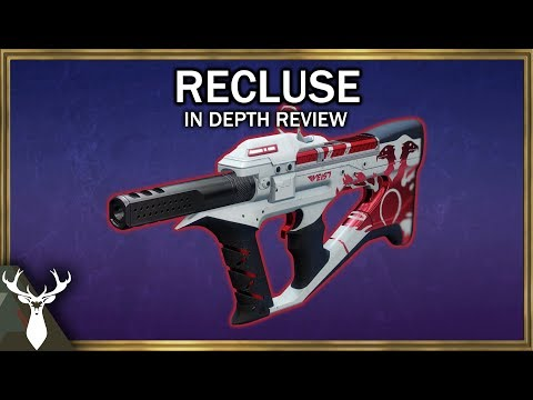 Destiny 2 - Recluse - In Depth Review (Crucible Pinnacle SMG) thumbnail